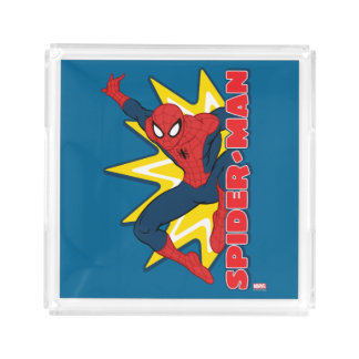 Spider-Man Callout Graphic Perfume Tray