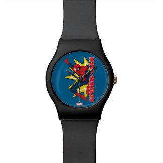 Spider-Man Callout Graphic Wristwatch