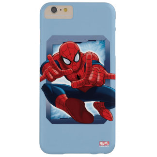 Spider-Man Character Card Barely There iPhone 6 Plus Case