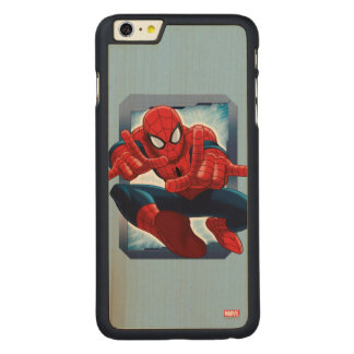 Spider-Man Character Card Carved® Maple iPhone 6 Plus Case