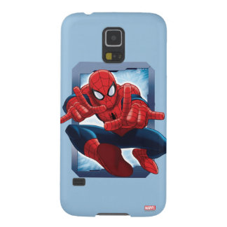 Spider-Man Character Card Case For Galaxy S5