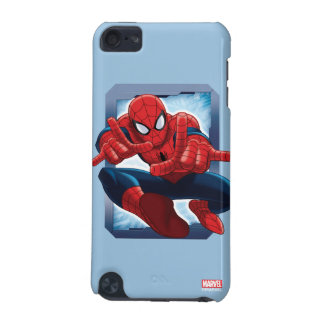 Spider-Man Character Card iPod Touch (5th Generation) Covers