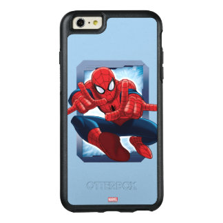 Spider-Man Character Card OtterBox iPhone 6/6s Plus Case