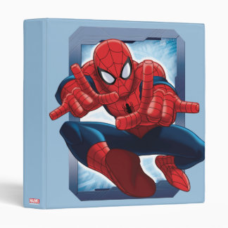 Spider-Man Character Card Vinyl Binders