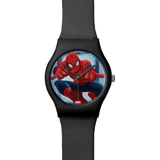 Spider-Man Character Card Watches