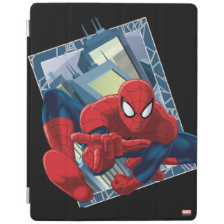 Spider-Man City Character Graphic iPad Cover