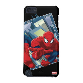 Spider-Man City Character Graphic iPod Touch (5th Generation) Case