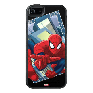 Spider-Man City Character Graphic OtterBox iPhone 5/5s/SE Case