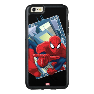 Spider-Man City Character Graphic OtterBox iPhone 6/6s Plus Case