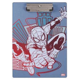 Spider-Man & City Sketch Clipboard