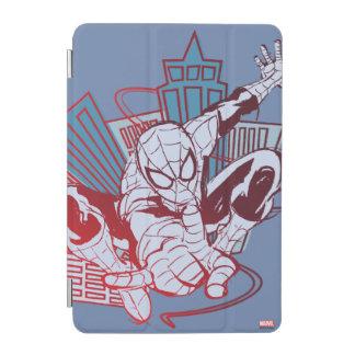 Spider-Man & City Sketch iPad Mini Cover
