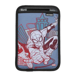 Spider-Man & City Sketch iPad Mini Sleeves