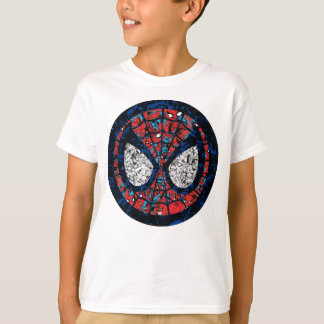Spider-Man Comic Patterned Icon T-Shirt