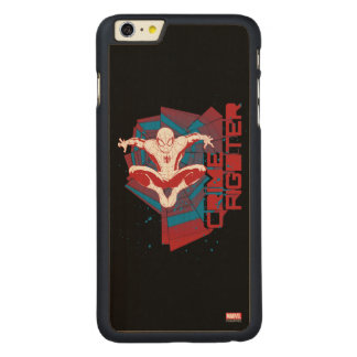 Spider-Man Crime Fighter Carved® Maple iPhone 6 Plus Case