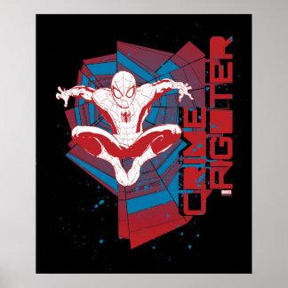 Spider-Man Crime Fighter Poster