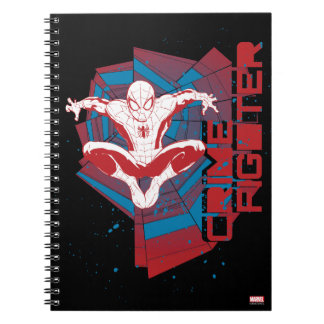 Spider-Man Crime Fighter Spiral Note Book