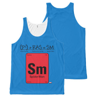 Spider-Man Element Scientific Formula All-Over-Print Tank Top