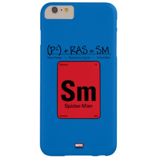 Spider-Man Element Scientific Formula Barely There iPhone 6 Plus Case