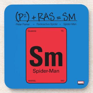 Spider-Man Element Scientific Formula Coaster