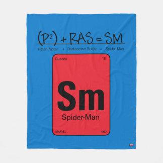 Spider-Man Element Scientific Formula Fleece Blanket