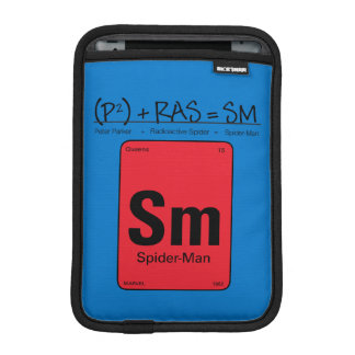 Spider-Man Element Scientific Formula iPad Mini Sleeve