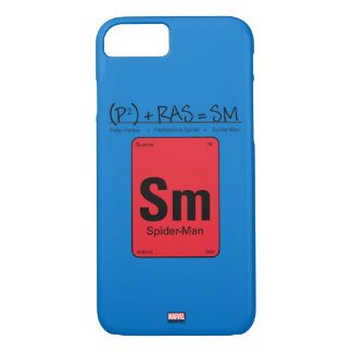 Spider-Man Element Scientific Formula iPhone 8/7 Case