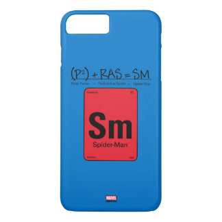 Spider-Man Element Scientific Formula iPhone 8 Plus/7 Plus Case