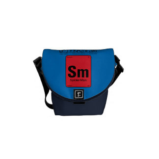 Spider-Man Element Scientific Formula Messenger Bag