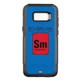 Spider-Man Element Scientific Formula OtterBox Commuter Samsung Galaxy S8+ Case
