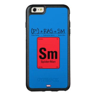 Spider-Man Element Scientific Formula OtterBox iPhone 6/6s Plus Case