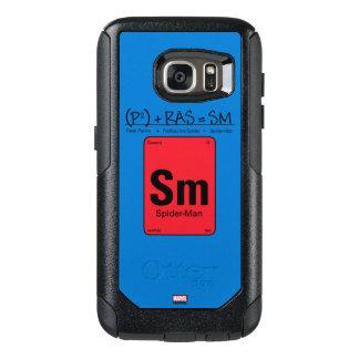 Spider-Man Element Scientific Formula OtterBox Samsung Galaxy S7 Case