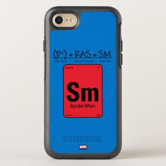 Spider-Man Element Scientific Formula OtterBox Symmetry iPhone 8/7 Case