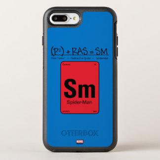 Spider-Man Element Scientific Formula OtterBox Symmetry iPhone 8 Plus/7 Plus Case