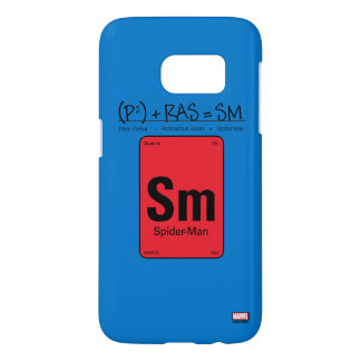 Spider-Man Element Scientific Formula Samsung Galaxy S7 Case