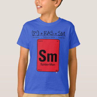 Spider-Man Element Scientific Formula T-Shirt