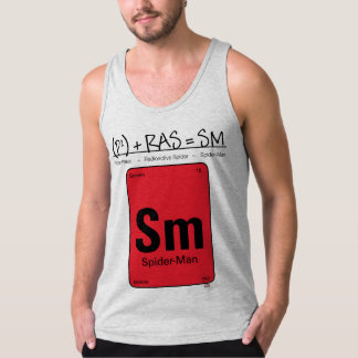 Spider-Man Element Scientific Formula Tank Top