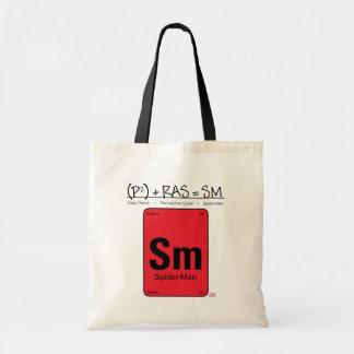 Spider-Man Element Scientific Formula Tote Bag