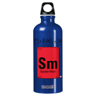 Spider-Man Element Scientific Formula Water Bottle