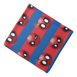 Spider-Man Emoji Stripe Pattern Bandana