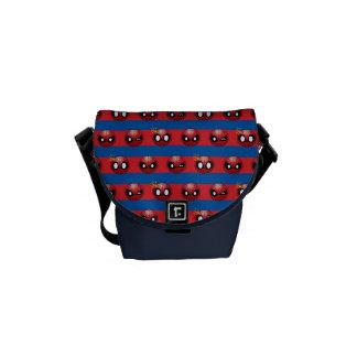 Spider-Man Emoji Stripe Pattern Commuter Bag