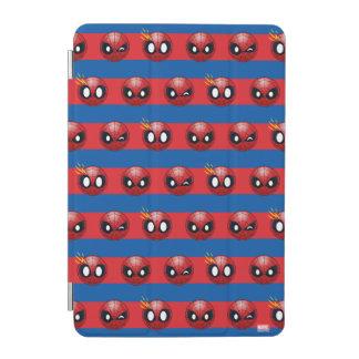 Spider-Man Emoji Stripe Pattern iPad Mini Cover