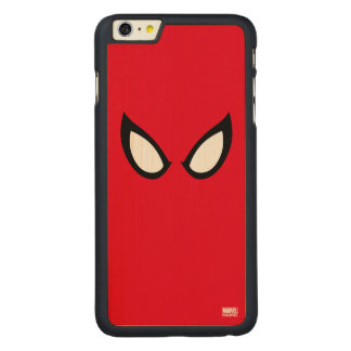Spider-Man Eyes Carved® Maple iPhone 6 Plus Case