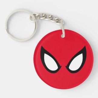 Spider-Man Eyes Double-Sided Round Acrylic Keychain