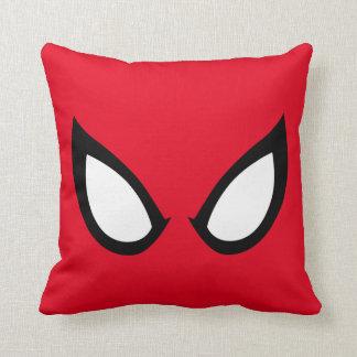 Spider-Man Eyes Throw Pillow