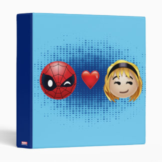 Spider-Man & Gwen Heart Emoji 3 Ring Binders