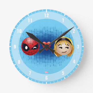 Spider-Man & Gwen Heart Emoji Clock