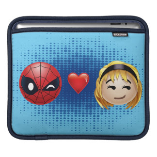 Spider-Man & Gwen Heart Emoji iPad Sleeve