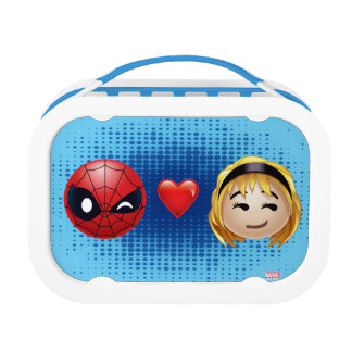 Spider-Man & Gwen Heart Emoji Lunchboxes