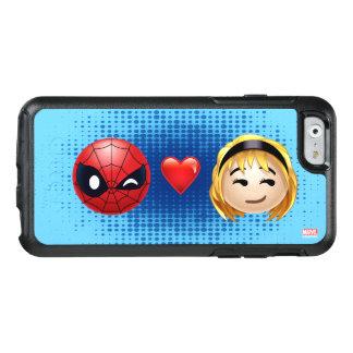 Spider-Man & Gwen Heart Emoji OtterBox iPhone 6/6s Case