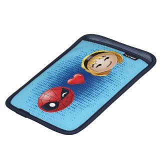 Spider-Man & Gwen Heart Emoji Sleeve For iPad Mini